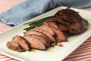 how to cook medium well steak on bbq