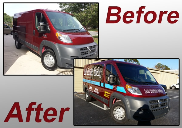 New Service Vehicle for Appliance Repair