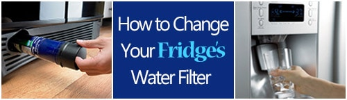 Fridge Water Filter Replacement