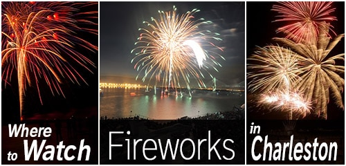 Where to Watch Fireworks in Charleston SC