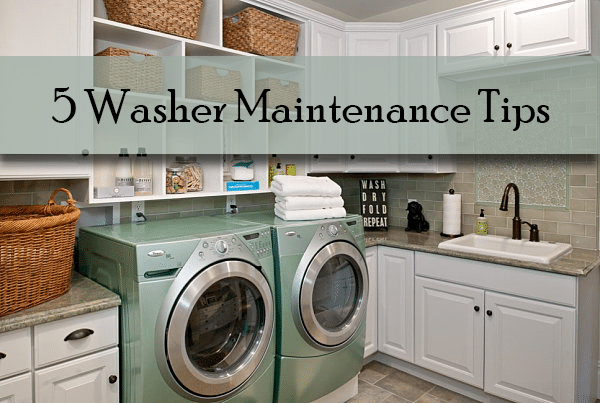 5 washer maintenance tips