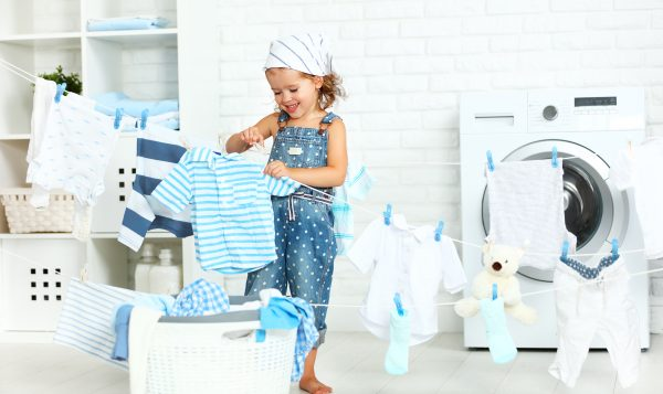 Teach your kids to do laundry the easy way