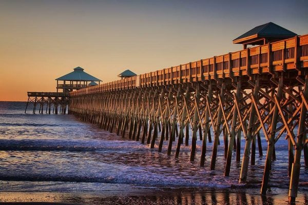 best beach towns charleston sc folly beach