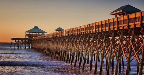 best beach towns near charleston sc