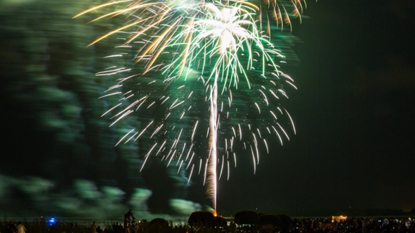 4th of july fireworks in charleston