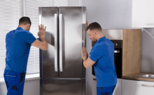 how to move appliances safely