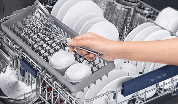 how to load a samsung dishwasher