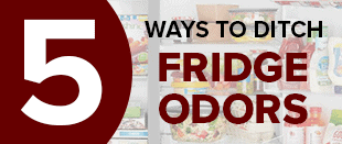 5 ways to get rid of fridge odors