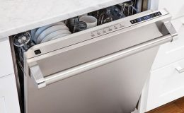 viking dishwasher leaves dishes wet