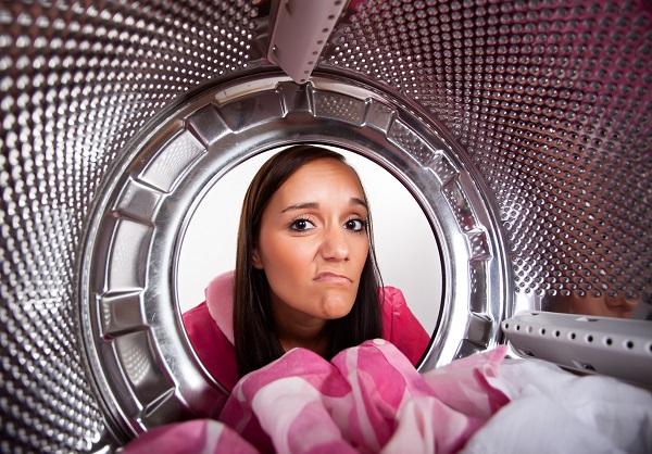 dryer smells bad