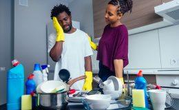 frigidaire dishwasher not cleaning